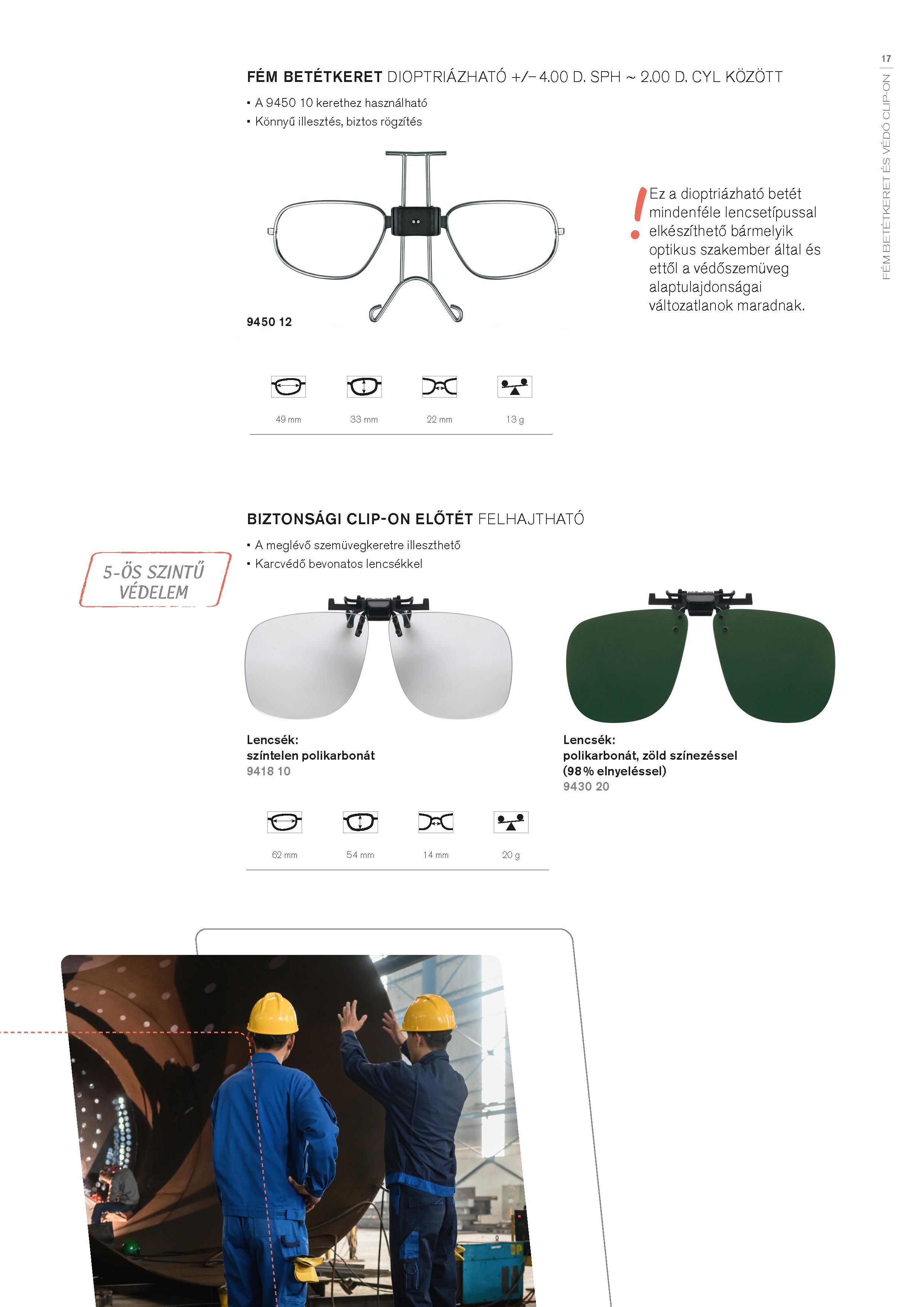 Védőszemüvegek | Argus Optik Kft.